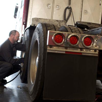 On Highway truck maintenance