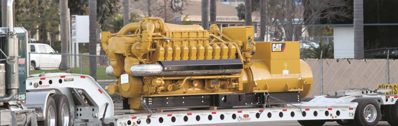 Power systems industrial engine
