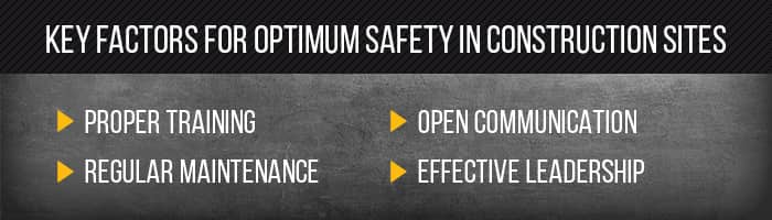 key factors for safety