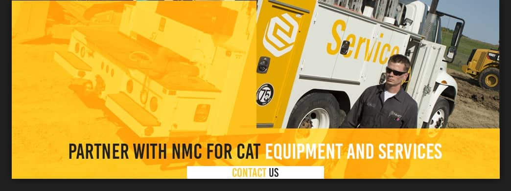 Partner with NMC for Cat Equipment and service