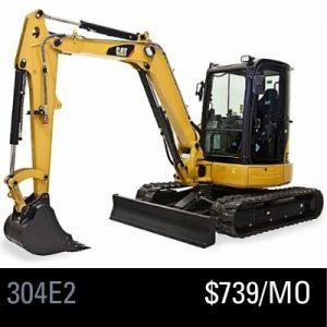 304E2 Mini Excavator