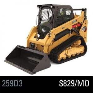 259D 3 Compact Track Loader