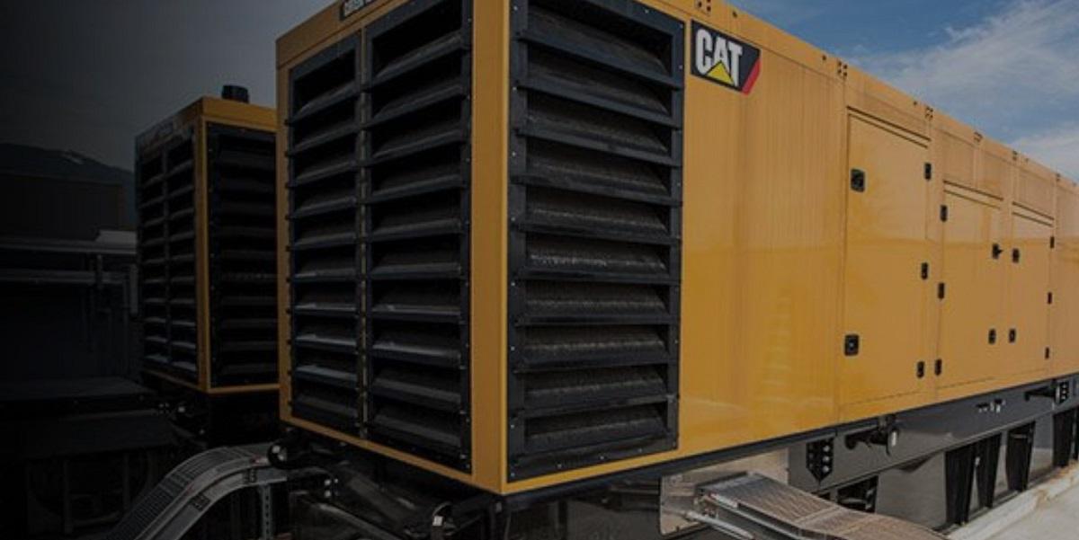 2 industrial generators