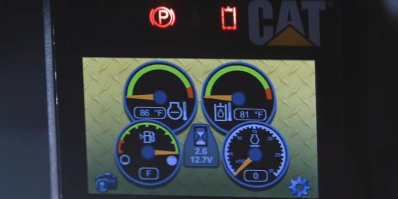 Cat® Advanced Display Screen (ADS)