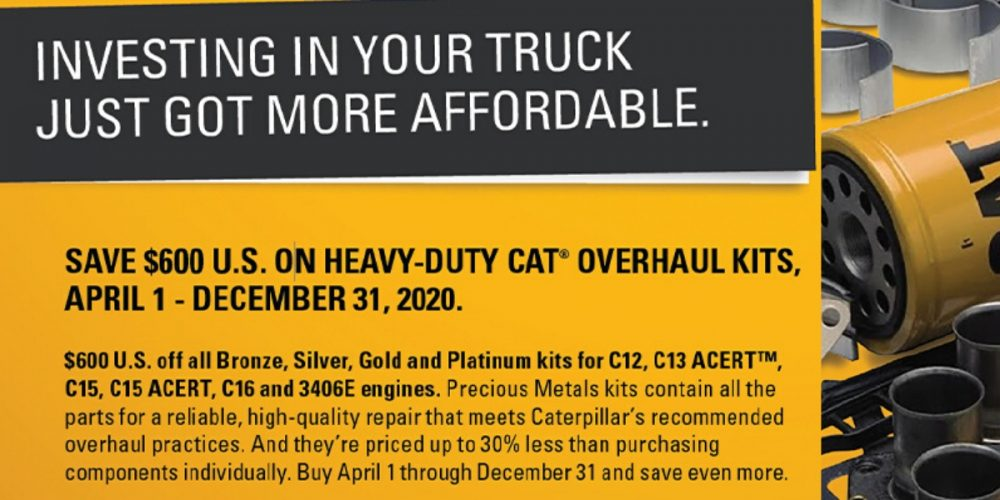Save On Heavy-Duty Overhaul Kits