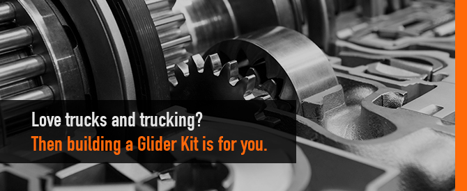 Building Glider Truck kits