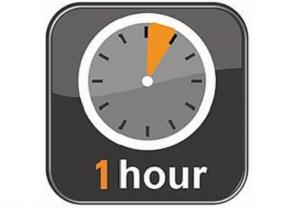 Express Check Service clock
