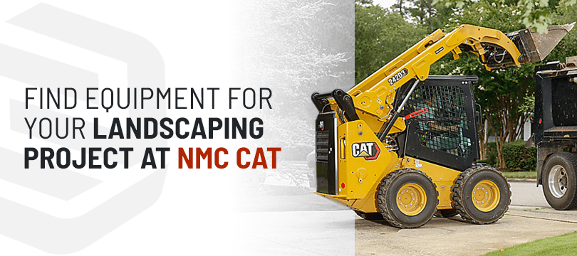 NMC Cat Buy and Rent Landscaping Equipment