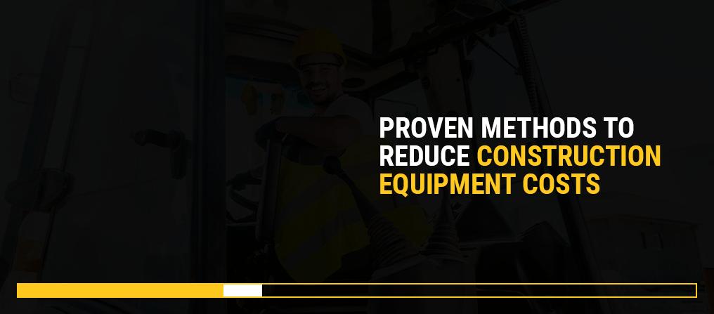 Reduce Construction equipment costs NMC Cat