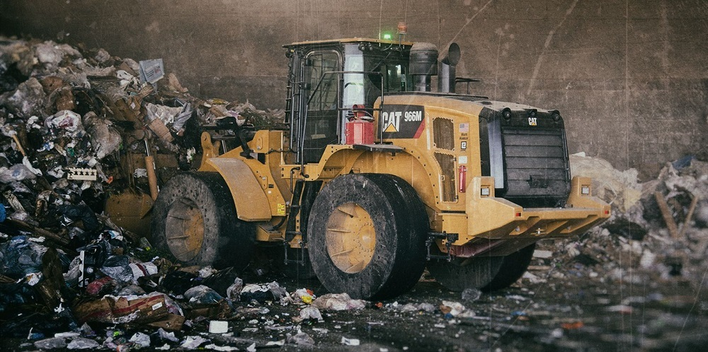 Wheel Loader for use in Waste Management