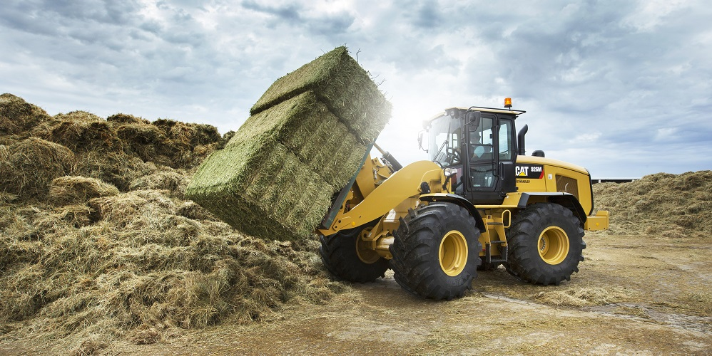 Wheel Loader in use on a Farm