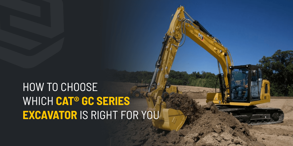 How to Choose Which Cat® GC Series Excavator Is Right for You