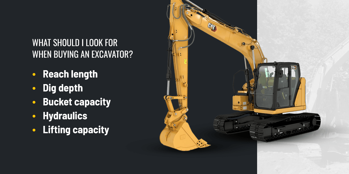 What Should I Look for When Buying an Excavator?