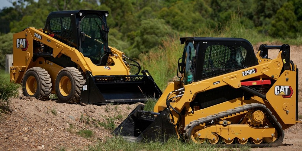 Compact Track loader and skid steer