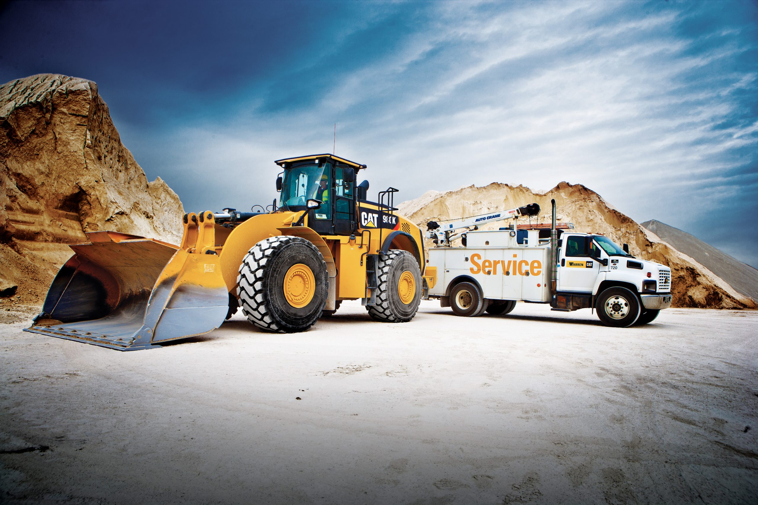 Construction equipment repair services from NMC Cat