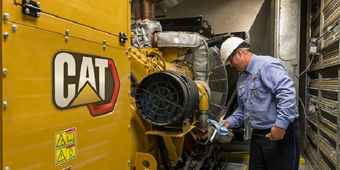 Generator being Tested